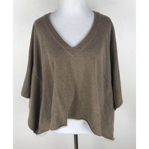 Sweaters - Malibu Society Terry Cloth Sweater Poncho Style